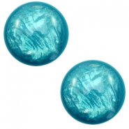 7 mm classic Polaris Elements cabochon Lively Persian Green