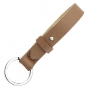 Cuoio key chain Medium Brown