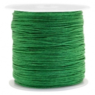 Macramé bead cord 0.8mm Classic Green