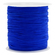 Macramé bead cord 0.8mm Royal Blue