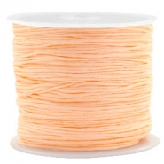 Macramé bead cord 0.8mm Apricot Orange