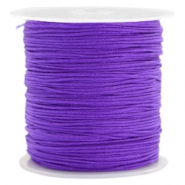 Macramé bead cord 0.8mm Purple