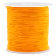 Macramé bead cord 0.5mm Warm Yellow