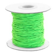 Coloured elastic cord 0.8mm Chartreuse Green