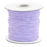Coloured elastic cord 0.8mm Lavender Purple