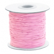 Coloured elastic cord 0.8mm Pink