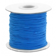 Coloured elastic cord 1mm Princess Blue