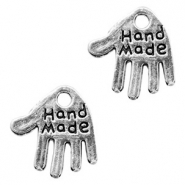 "Metal charms ""hand made"" Antique Silver"