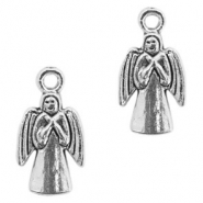 Metal charms angel Antique Silver