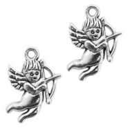 Metal charms cupid Antique Silver