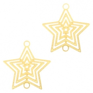 Bohemian connectors star Gold