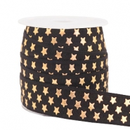 Elastic ribbon stars Black