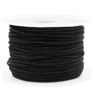 Waxed cord 1.5mm Black