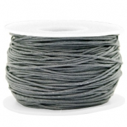 Waxed cord 1mm Gallant Grey