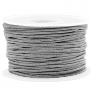 Waxed cord 1.5mm Chromium Grey