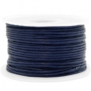 Waxed cord 1.5mm Dark Blue