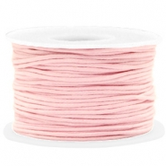 Waxed cord 1.5mm Light Pink