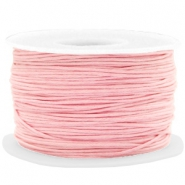 Waxed cord 1mm Powder Pink
