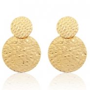 Trendy earrings Gold (nickel free)