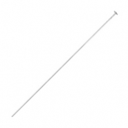 Beadalon Headpins 50mm Silver