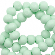 Wooden beads round 6mm Meadow Green