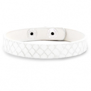 Ready-made bracelets snake White