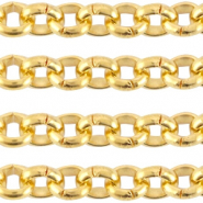 Designer Quality belcher chain 3mm DQ Gold