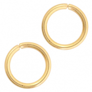 Stainless steel findings jumprings 3mm Gold