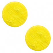 20 mm flat Polaris Elements cabochon Lively Empire Yellow