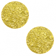 12 mm flat Polaris Elements cabochon Goldstein Empire Yellow