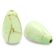 Beads Ceramic drop Paradise Green