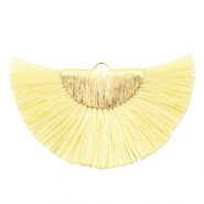 Tassels charm Gold-Sunshine Yellow