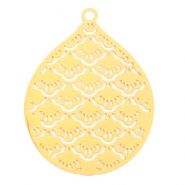 Bohemian charms drop Gold (nickel free)