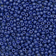 Miyuki seed beads 11/0 Duracoat Opaque Dyed Navy Blue 11-4493