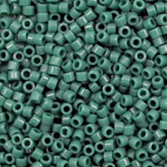 Miyuki beads delica's 11/0 Duracoat Opaque Dyed Forrest Green DB-2358