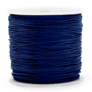 Macramé bead cord 0.8mm Sodalite Dark Blue