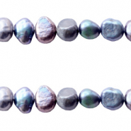 Freshwater pearls nugget 4-5mm Peacock Blue
