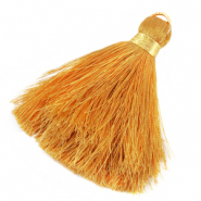 Tassels 6cm Limited edition Golden Yellow-Warmgold