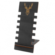 "Jewellery display wood ""Deer"" Black"