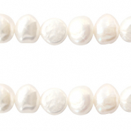 Freshwater pearls nugget 7-8mm White