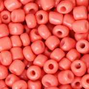Glass seed beads 6/0 (4mm) Canyon Sunset Pink