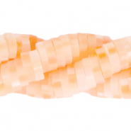 Katsuki beads 4mm Fresh Salmon Orange