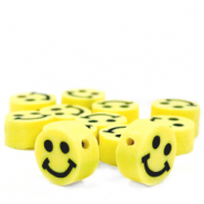 Katsuki beads Smiley Yellow