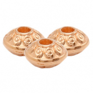 DQ European metal beads deco Rose Gold (nickel free)