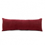 Jewellery display cushion velvet soft Port Red