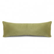 Jewellery display cushion velvet soft Vintage Olive Green
