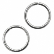 Stainless steel findings jumprings 8mm Silver