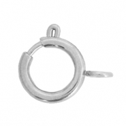Stainless steel findings clasp 12x14mm Silver