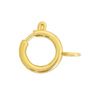 Stainless steel findings clasp 10x12mm Gold
