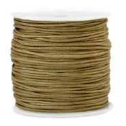 Macramé bead cord 1.5mm Incense Brown